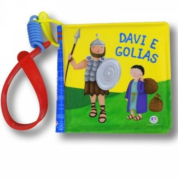 Davi e Golias   livro de banho com alcinha