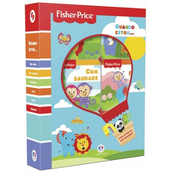Fisher-Price - Quando estou... | Box com janela com 6