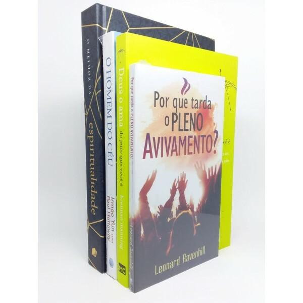 Kit 4 Livros | Crescimento Espiritual