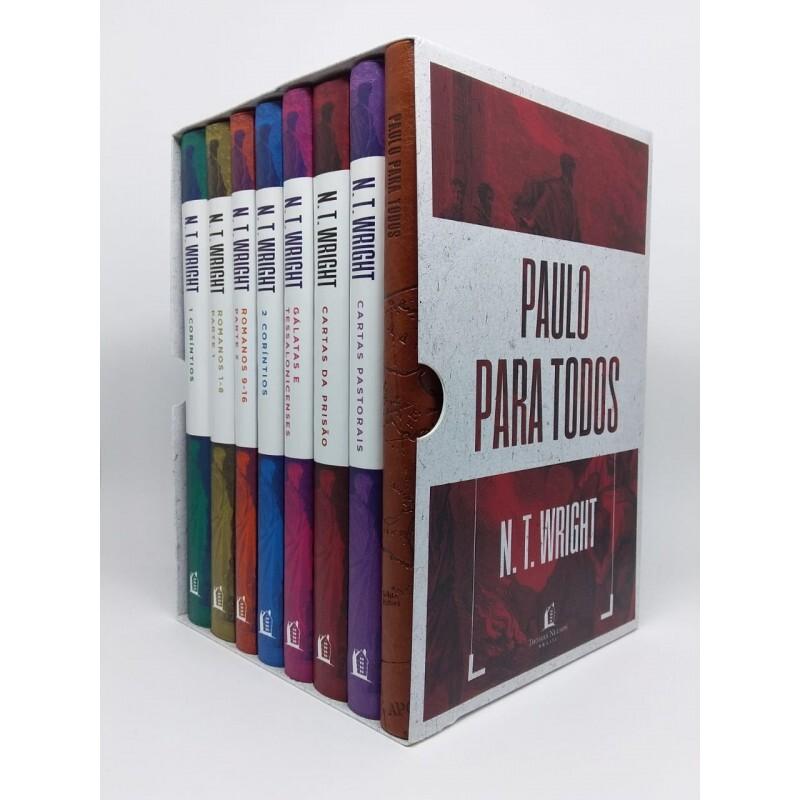 Box 7 livros | Paulo para Todos + Bloco de anotações