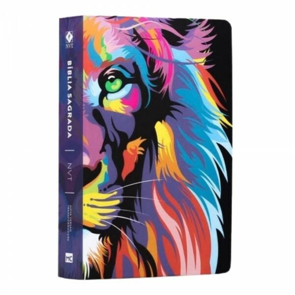 Bíblia NVT| Letra Gigante | ST | Lion Color | Mundo Cristão