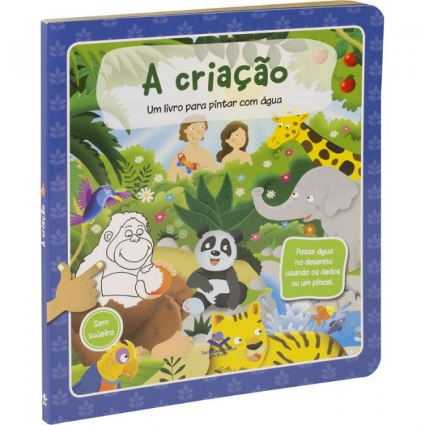 Um Livro para Pintar com Água   Criação  TNL563PC