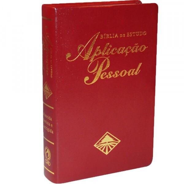 Bíblia | de Estudo | Aplicação Pessoal | Cp Vinho | RC067BAPVN
