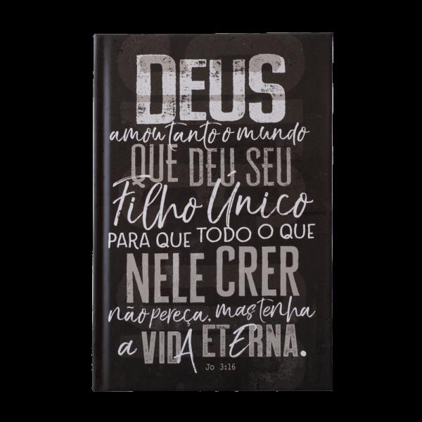Bíblia Sagrada   NVT   João 3.16   Chumbo
