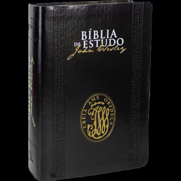 Bíblia de Estudo | John Wesley | Preto | Alpha | NA085BEJW