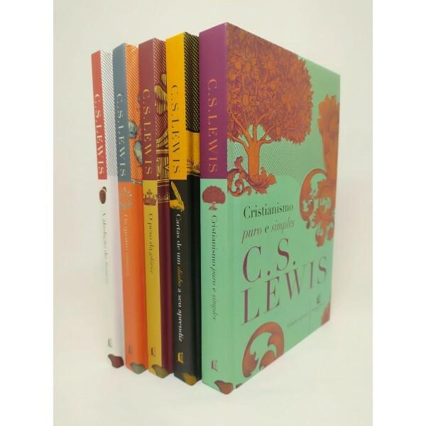 Kit 5 Livros de C. S Lewis