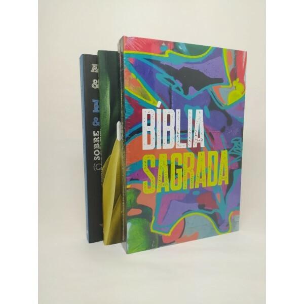 Kit Dedicação | 2 Livros+1 Bíblia
