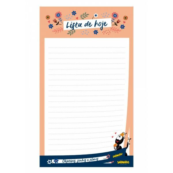 Bloco de anotações | Lista | Faniquita