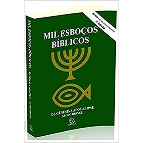 Mil Esboços Bíblicos | Brochura