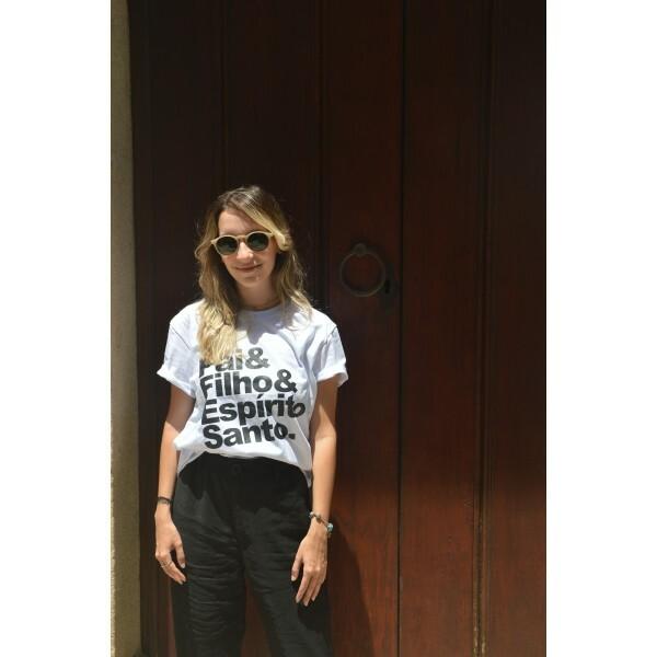 Camiseta Rebanho | Pai & Filho | Branca
