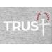 Camiseta Rebanho | In God Trust | Cinza | Tamanho GG