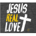 Camiseta Rebanho | Jesus Real Love Cinza | Tamanho P